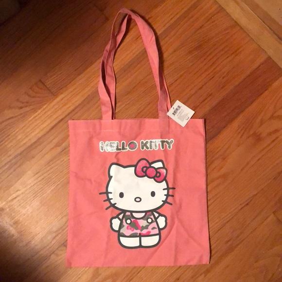 7a313ce6c Hello Kitty Accessories | Nwt Pink Tote | Poshmark